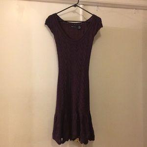 Knit Plum Dress from Victoria's Secret